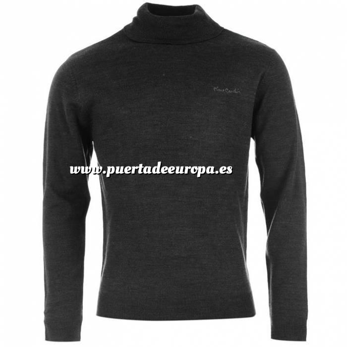 Imagen Jerseys Pierre Cardin Jersey fino de cuello alto CHARCOAL (Gris Oscuro) Pierre Cardin - Talla XL (Últimas Unidades)