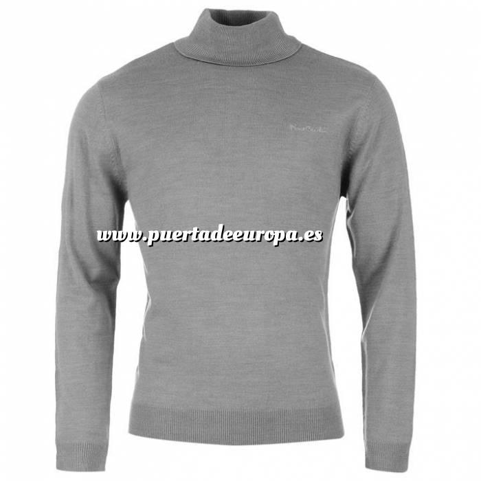 Imagen Jerseys Pierre Cardin Jersey fino de cuello alto GREY MARL Pierre Cardin - Talla L (Últimas Unidades)