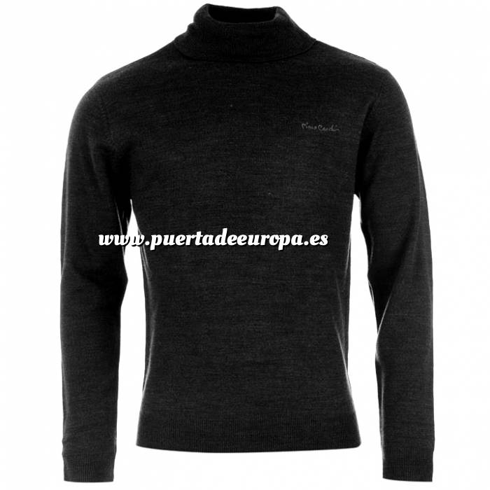 Imagen Jerseys Pierre Cardin Jersey fino de cuello alto NEGRO Pierre Cardin - Talla XXL (Últimas Unidades)