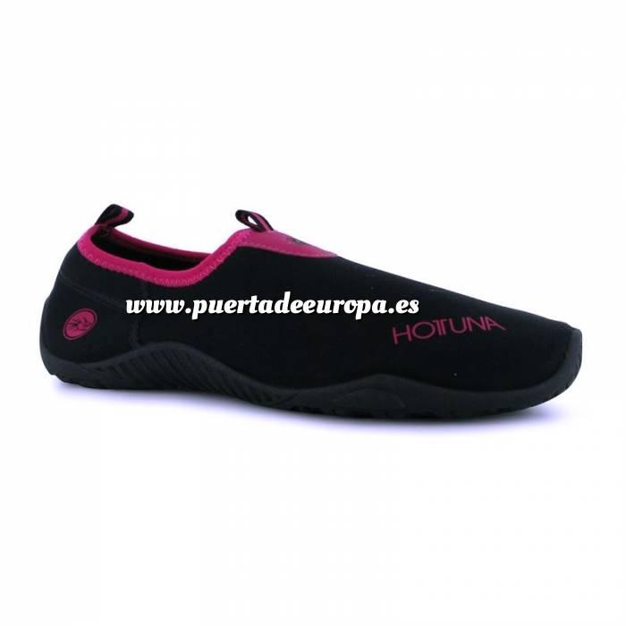 Imagen Tallas 16-34 Zapatillas de Neopreno HOT TUNA Talla 31 Negro-Fucsia (PDE) (Últimas Unidades)