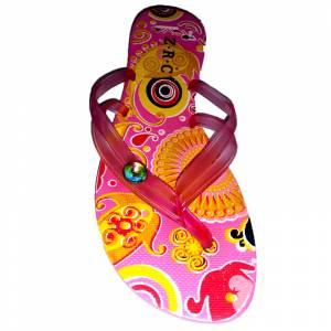 Tallas 35-39 - Chancla Playa Rosa Colorines Talla 37 (PDE) (Últimas Unidades)