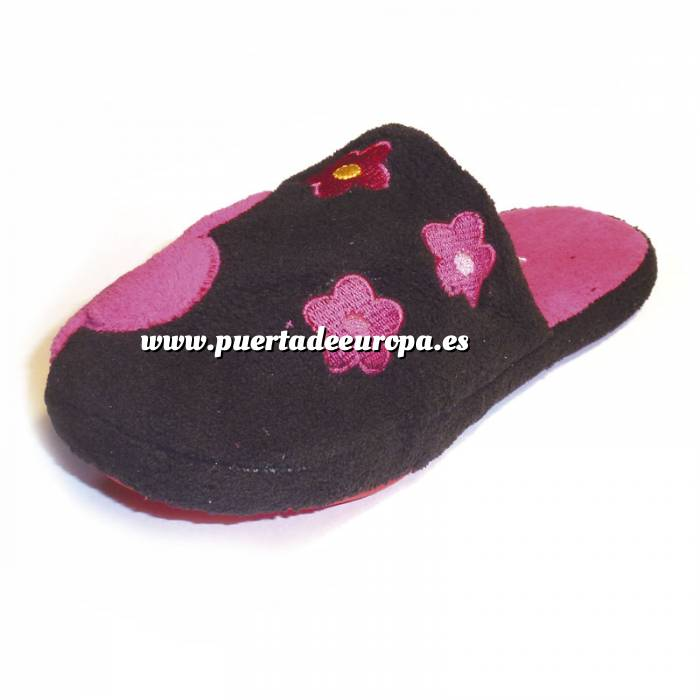 Imagen Fucsia PFLR Pantunfla flores mujer Fucsia Talla 36