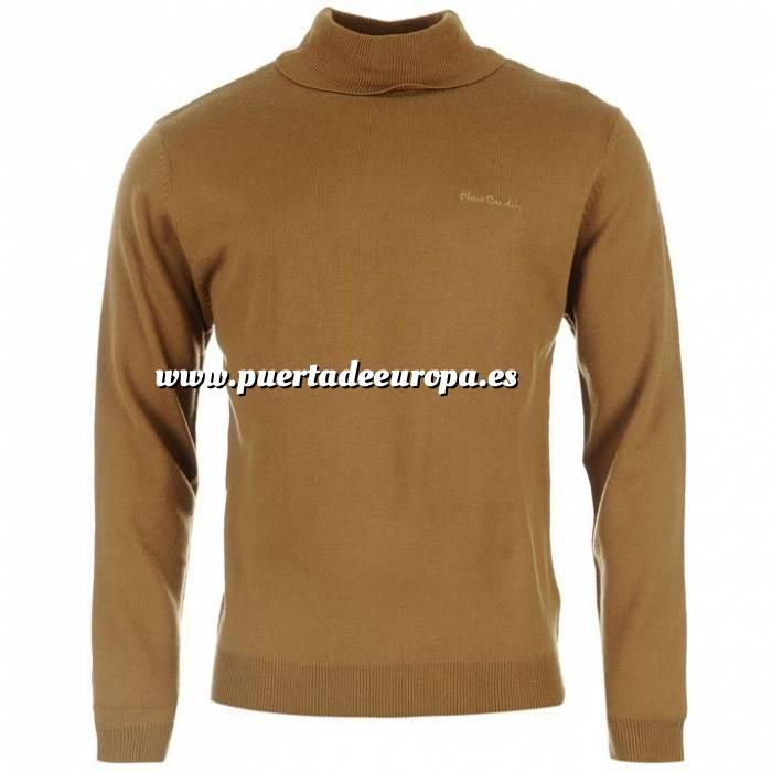 Imagen Jerseys Pierre Cardin Jersey fino de cuello alto CAMEL Pierre Cardin - Talla XXL (Últimas Unidades)