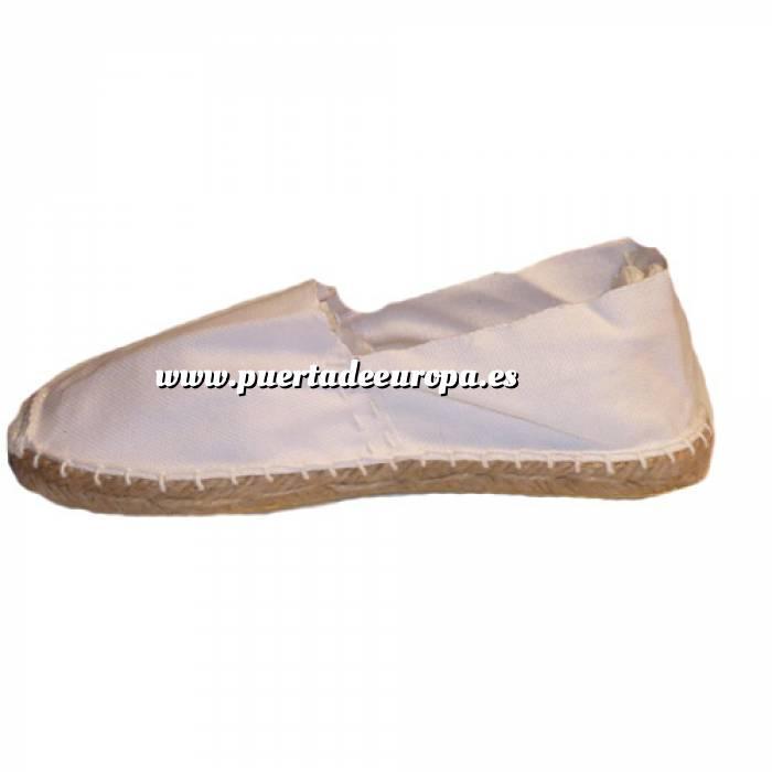 Imagen Tallas 40-42 Alpargata Blanca Talla 40 Modelo clásico (PDE) (Últimas unidades)