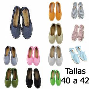 -Alpargatas clásicas_Tallas 40-42