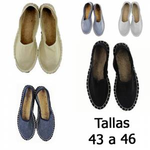-Alpargatas clásicas_Tallas 43-46